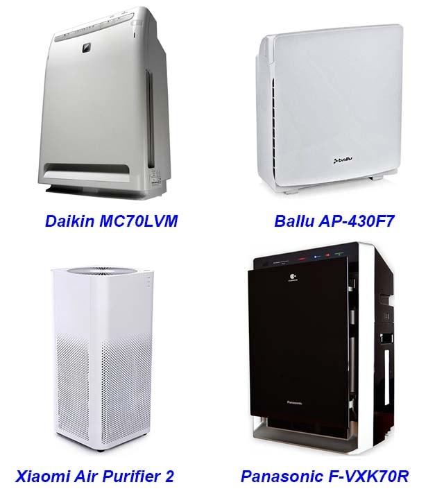 Рейтинг бытовых воздухоочистителей