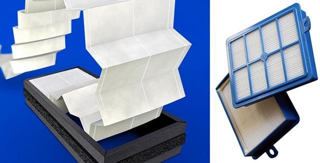 HEPA-фильтр тканевый для бытовых воздухоочистителей