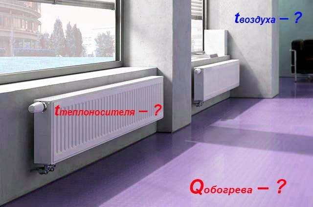 Параметри теплоносія і мікроклімату приміщення