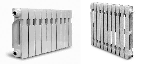 Секционные батареи под алюминий