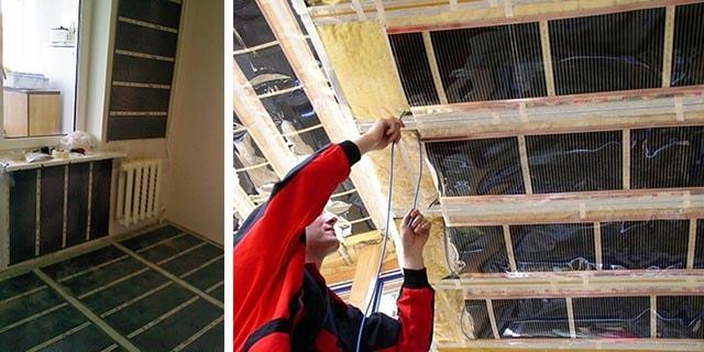 Устройство теплых стен и потолков