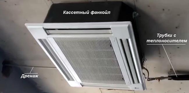 Обвязка вентиляторного доводчика