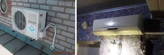 Расположение сплит-системы в частном доме