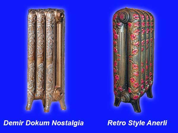 Радіатори з чавуну у стилі ретро