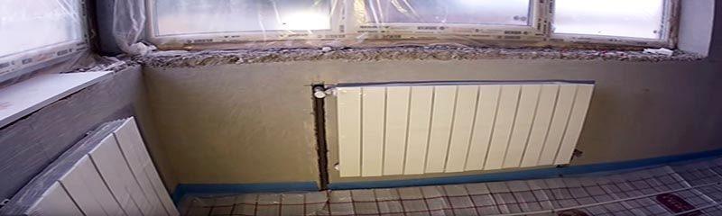 Как самому установить радиаторы отопления