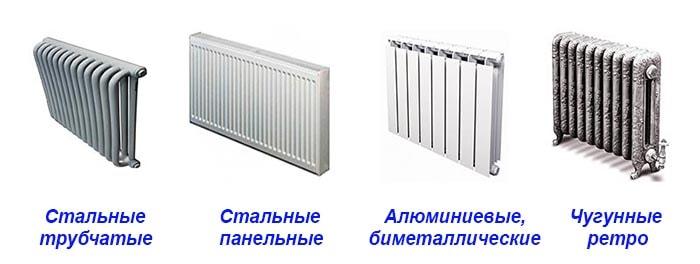 Різновиди опалювальних приладів для дому