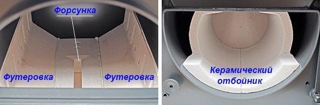 Топливник и камера дожига газогенераторного котла