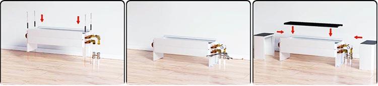Як встановити підлоговий обігрівач