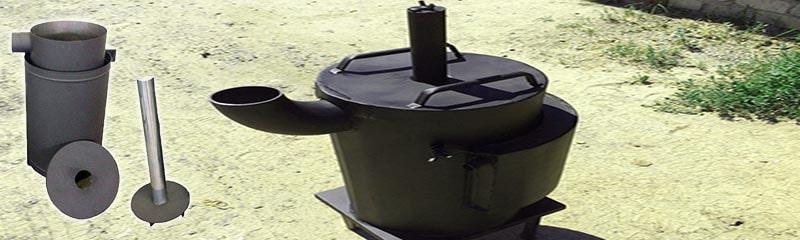 Самодельная печь Бубафоня