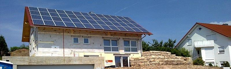 Как поставить солнечные батареи для дома
