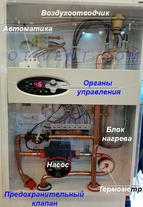 Электрокотлы фирмы Kospel