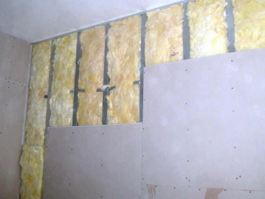 Самостоятельное утепление стен изнутри минватой плюс гипсокартон