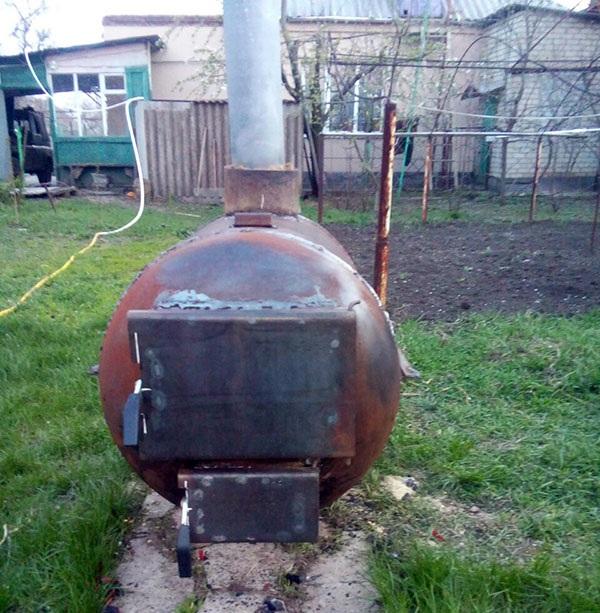 Готовая печка