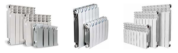 Секционные приборы отопления