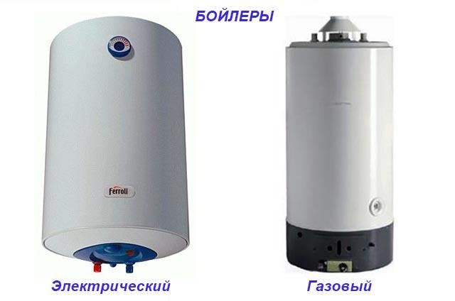 Приборы для нагрева воды на ГВС