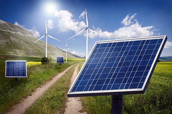 Ветряки и солнечные панели