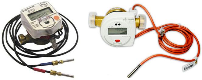 Механические расходомеры теплоты